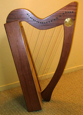 Cambria Harp with Markwood Strings harp strings