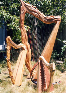 Mountain Glen Custom One of a Kind Harps